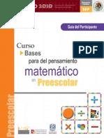 Bases para el pensamiento matemático en preescolar