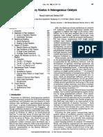 Cinética Oscilatoria en Catálisis Heterogénea- Gerard Ertl - 1995