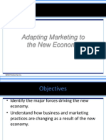 Adapting Marketing to the New Economy