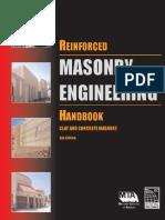 Amrhein - Reinforced Masonry Engineering Handbook 6e