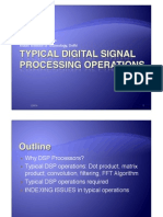 Digital Signal Processing CSS55