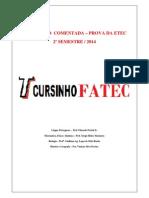 Resoluçao ETEC 2014-2