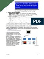 Configurando o Hydrobox com porta virtual Serial virtual