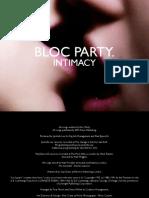 Intimacy Digital Booklet