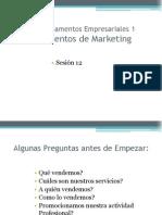 Fundamentos Empresariales_Sesion12
