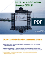 presentazione progetto GOLD - Roma 23 febbraio 2010 - Silvia Panzavolta