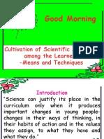Scientific Attitude