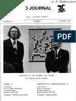 British Go Journal N°29