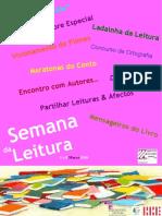 Cartaz Semana Da Leitura GEA