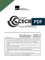 Prova VEST 2008 2
