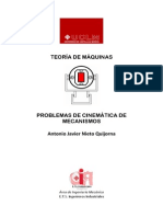 Problemas de Cinemática de Mecanismos (UCLM)