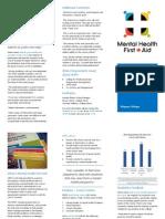mhfa brochure