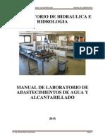 Manual de Laboratorio de Abastecimientos de Agua 2015