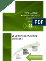 ¿Qué es la comunicación para el desarrollo?