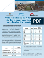 VMA Descarga de Aguas No Domesticas