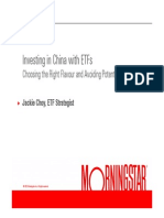 Morningstar - Investing in China With ETFs