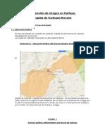 Análisis de Riesgo y Vulnerabilidad Del Distrito de Carhuaz