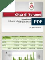 Teramo Bilancio 2010
