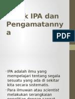 Objek IPA Dan Pengamatannya