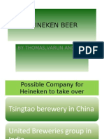 Possible Company for Heineken to Take Over