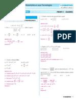 1.3. Matemática - Exercícios Propostos - Volume 1