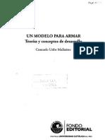 Uribe Mallarino, Consuelo. Un Modelo Para Armar. Teorías y Conceptos de Desarrollo I.C1.C2. C3