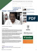 """08-27-2015 """"Alcalde Cumplió El Sueño de Los Comerciantes de La Peatonal Hidalgo""""_ Adán Cisneros"""