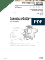 Manual Temperatura Refrigerante Camiones Volvo