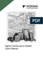 Yaskawa Sigma-II Servo User Manual
