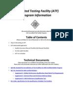 AWS Authorized Testing Facility Initial Audit App Pkg v3
