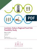 Lewiston-Auburn Regional Food Hub Feasibility Study