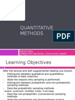 15. AMB3 Quantitative Methods 2015