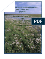 The Natural Heritage Preservation Tax Credit Act