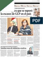 Nota en El Peruano (29-05-2015)