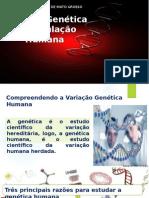 Variação Genética Nas Populações Humanas