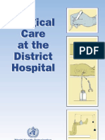 Surgical Care at District Hospitals