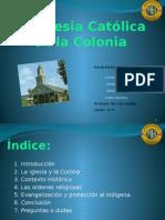 Iglesia Católica en la colonia