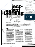 Project-Based Learning - A Primer