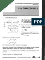 Dimensionamiento de cimentaciones Roberto Morales.pdf
