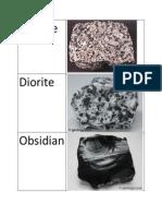 igneous rocks examples