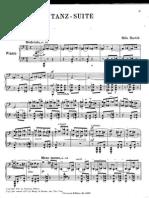 Bela Bartok Dancce Suite 1923