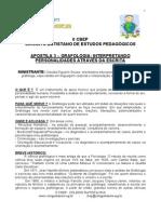 Apostila 3 - Grafologia - Interpretando Personalidades Através Da Escrita (II CBEP)