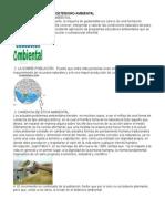 Principales Causas de Deterioro Ambiental Flora y Fauna