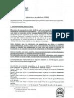 Indicaciones Académicas 201520