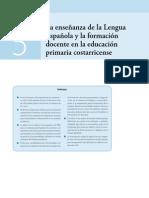 La Enseñanza de La Lengua Española