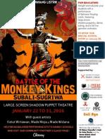 Wayang Listrik Flyer Fall 2015