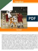 Handbol Historia