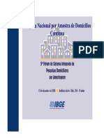 PNAD Contínua Questionário