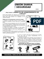 012-Metodo Correcto de Levantamiento de Cargas