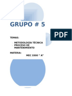 Metodologia Tecnica Final